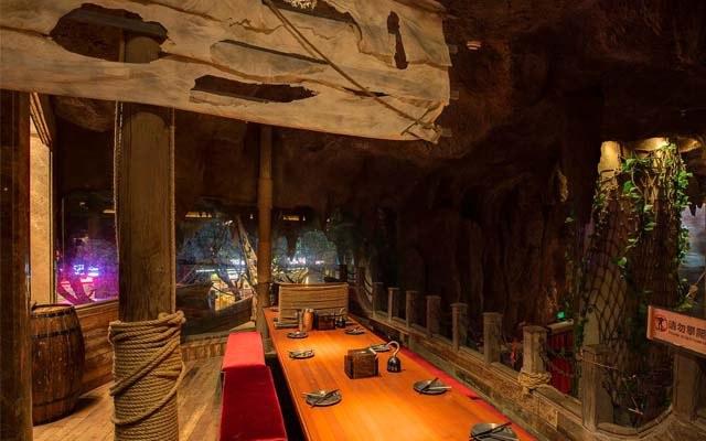 海盗乐园主题餐厅