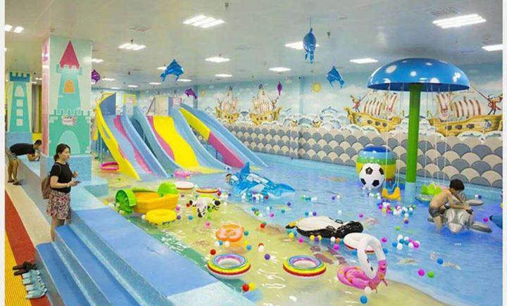 泡泡糖儿童水上乐园