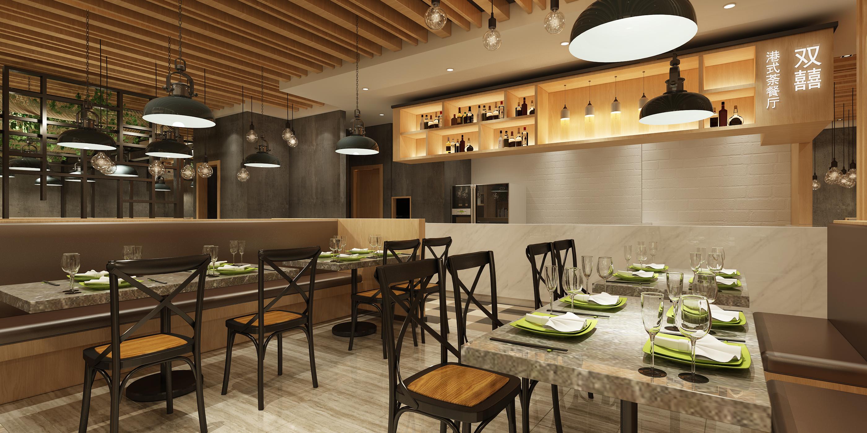 双喜港式茶餐厅图片