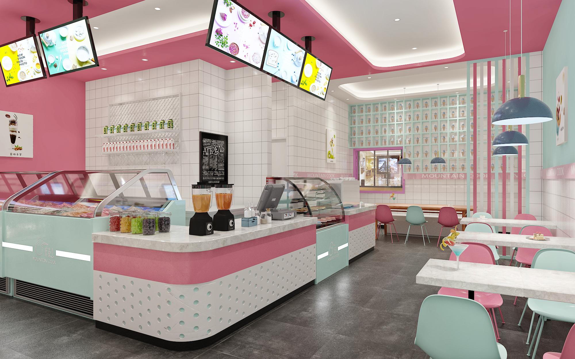 库克山冰淇淋