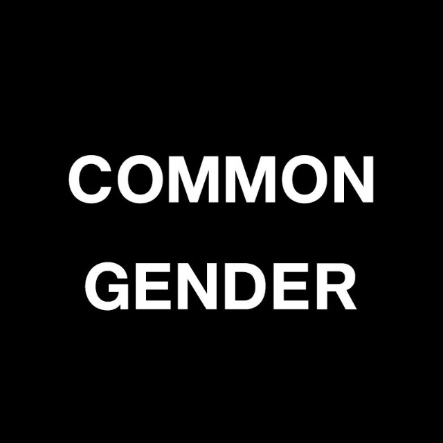 Common Gender