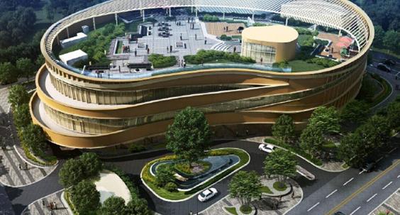 北京望京朗昆文化中心