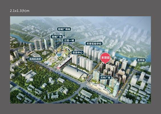 深圳龙岗万科天誉 city mall