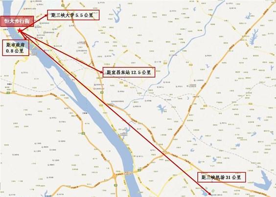 宜昌恒大步行街