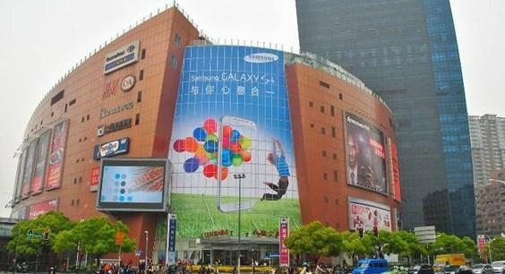 上海中山公园龙之梦