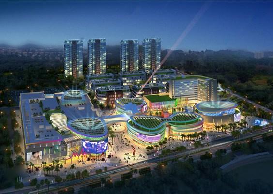 深圳佐阾虹湾购物中心