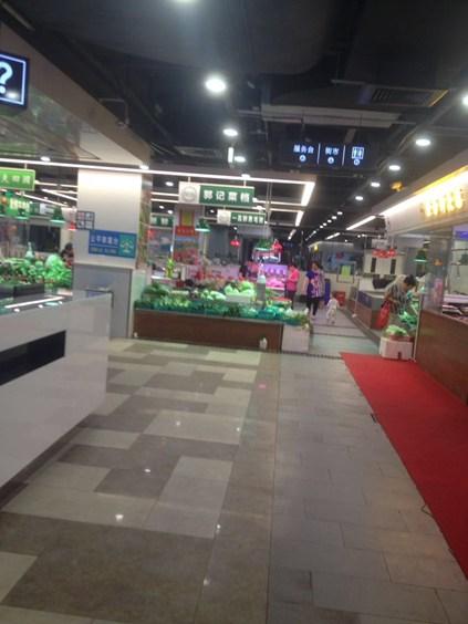 深圳罗湖区罗湖村美食广场