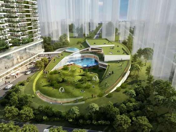 上海阳明花园广场