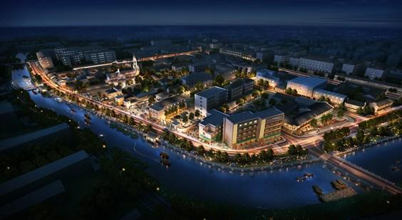 上海浦东川沙古镇