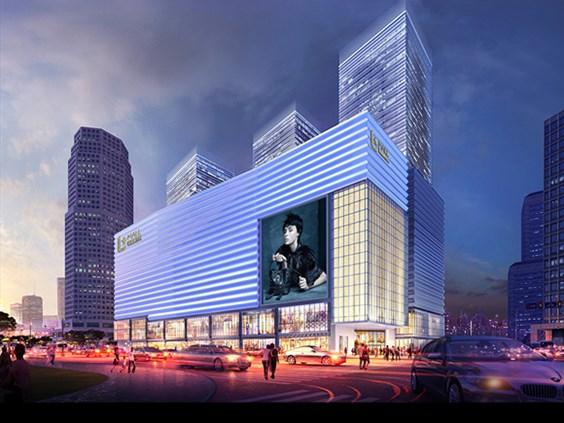 上海陆家嘴中心L+Mall