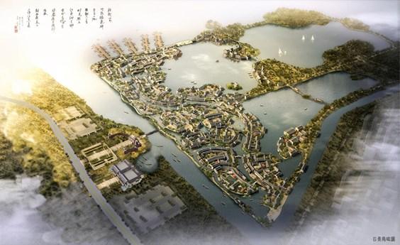 盐城大纵湖·东晋古城