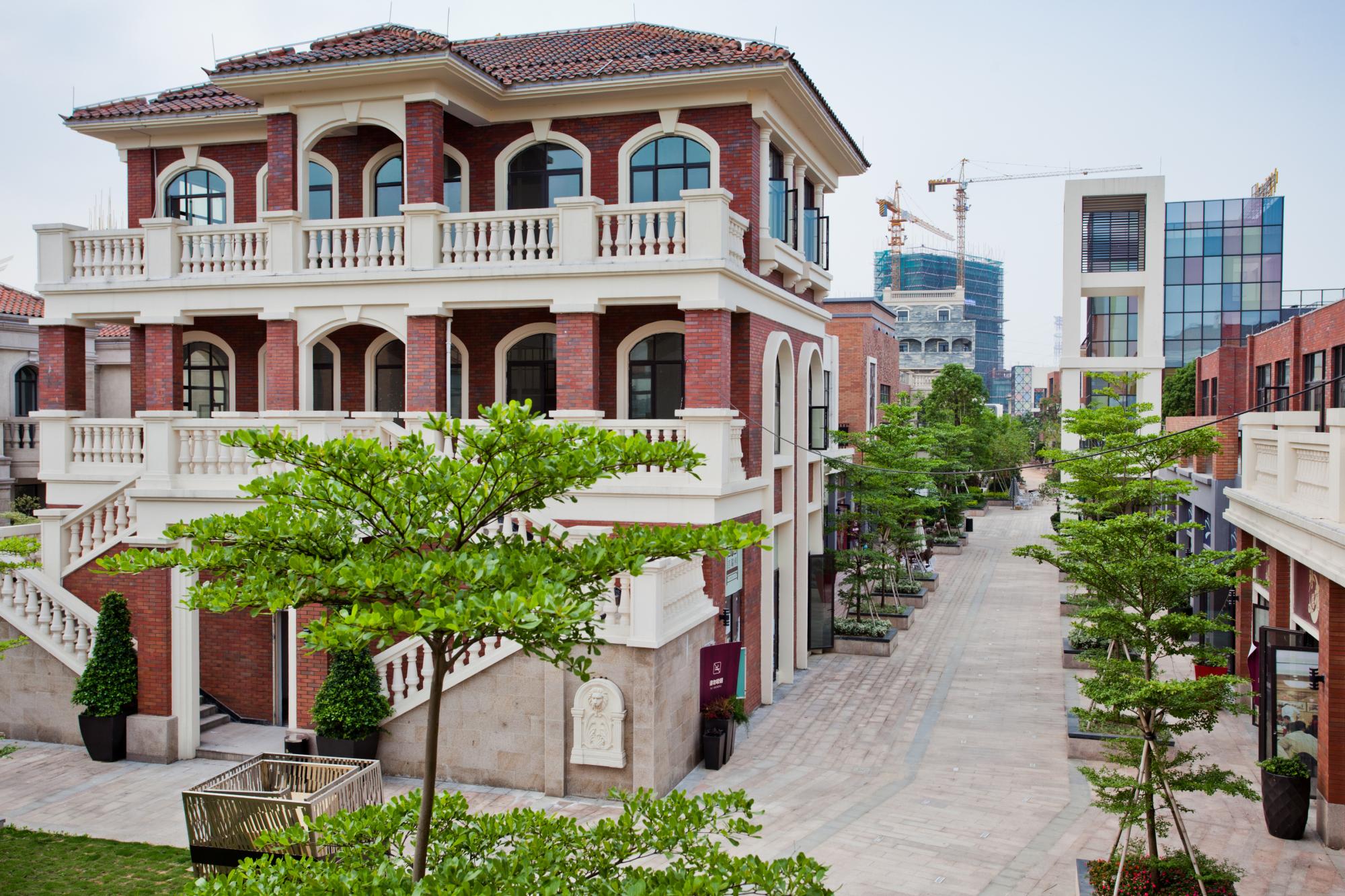 江门奥园外滩V-Park微度假风情街