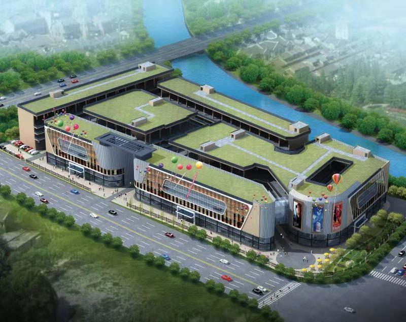 福州倪世建材城-智能仓储批发中心