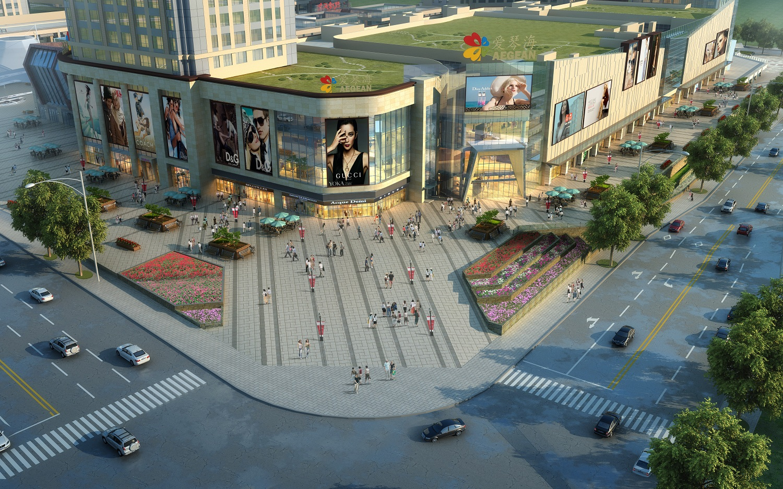 重慶綦江愛琴海購物公園