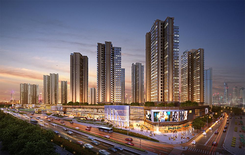 深圳观澜汇合正广场