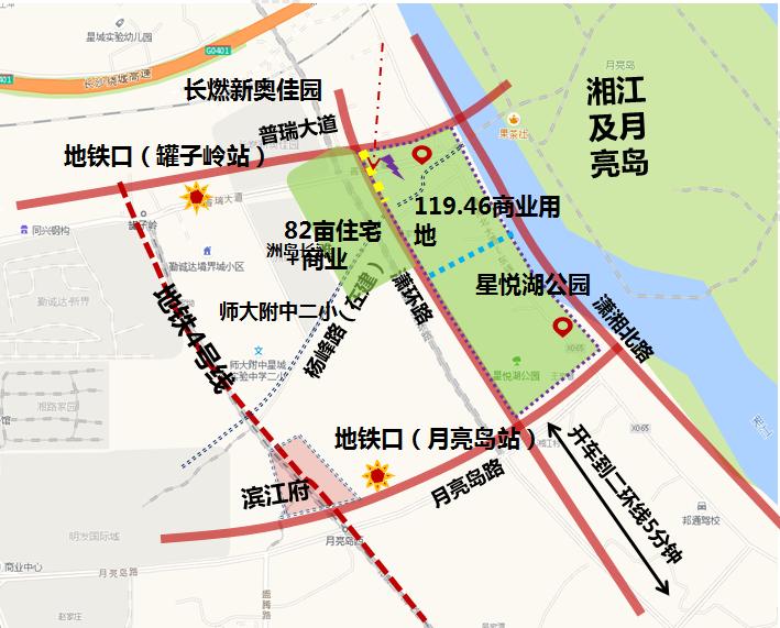 长沙滨江道商业广场