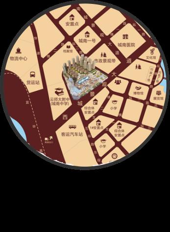 昭通镇雄观澜湖财富广场