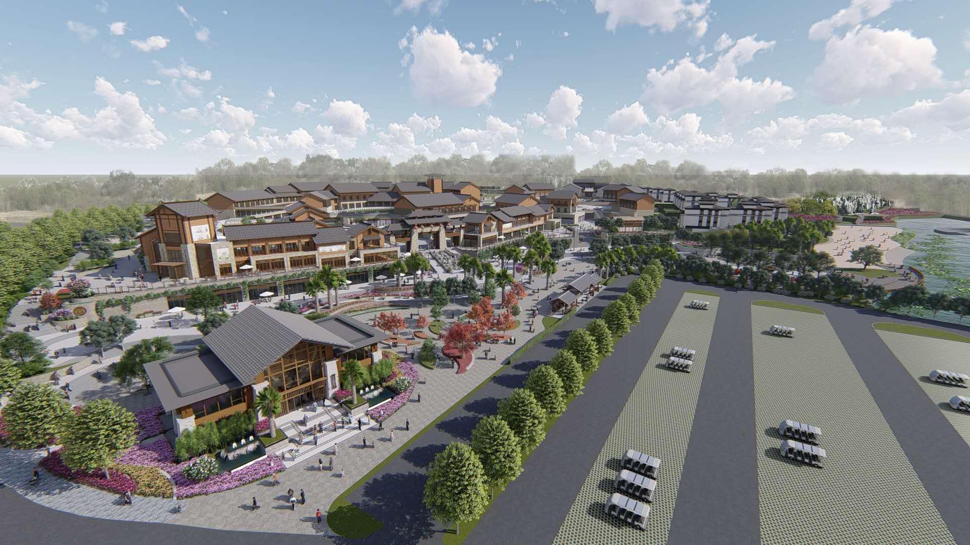 昆明石林阿诗玛旅游文化城