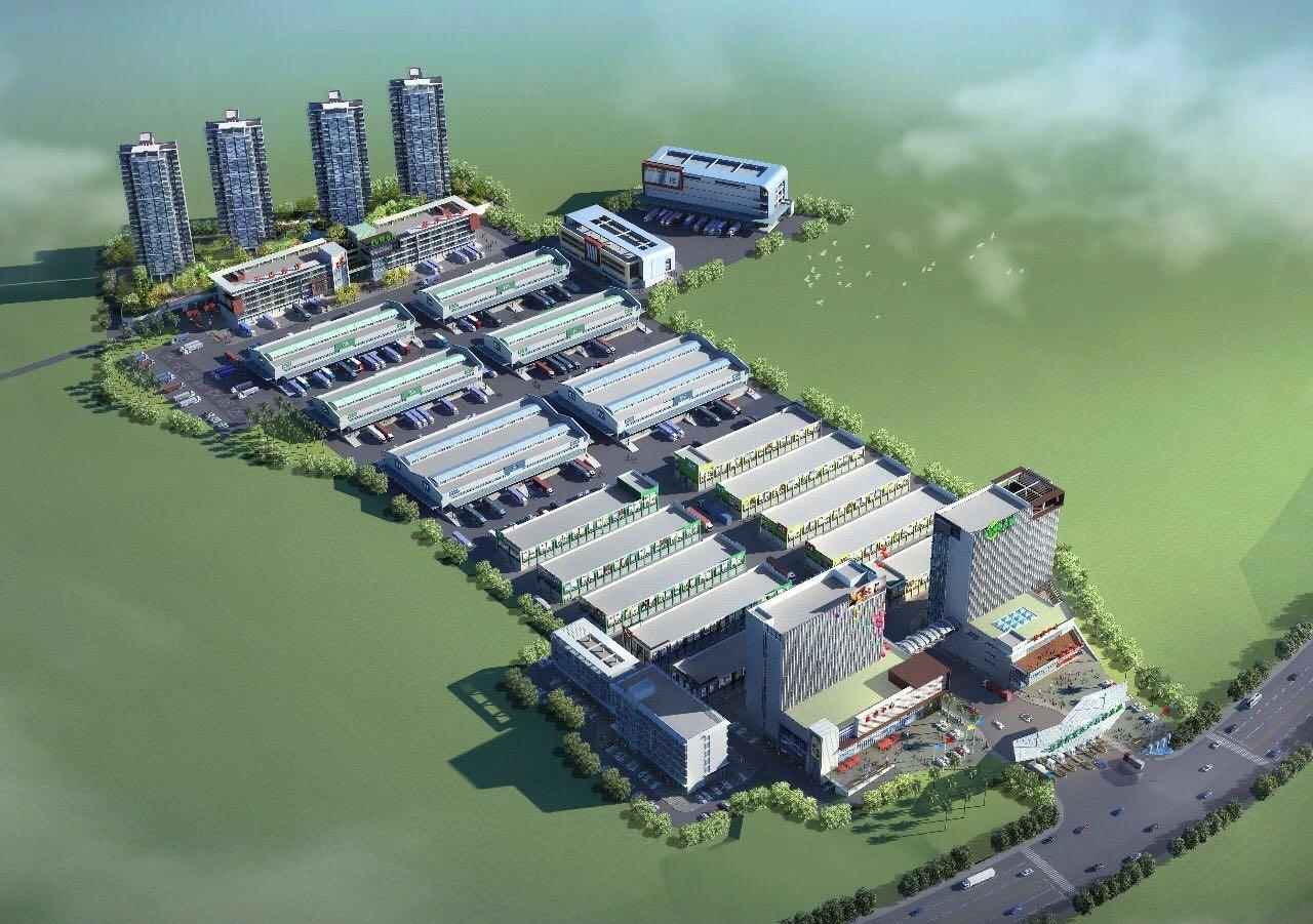 广东绿然灯塔农产品物流园