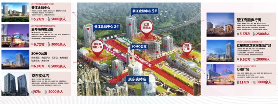 重庆綦江商圈步行街