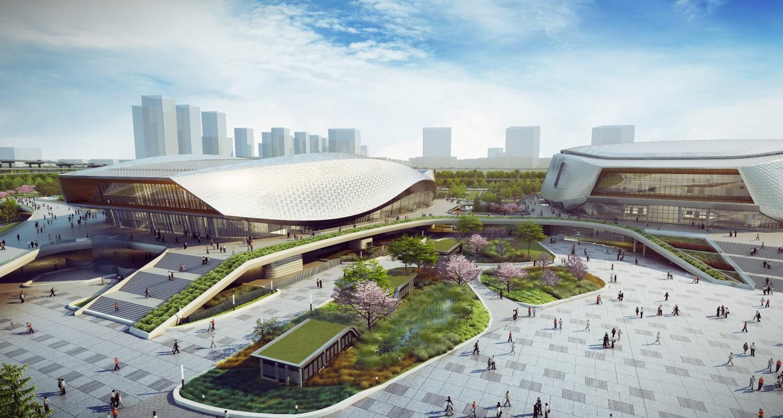 宁波奥体中心图片