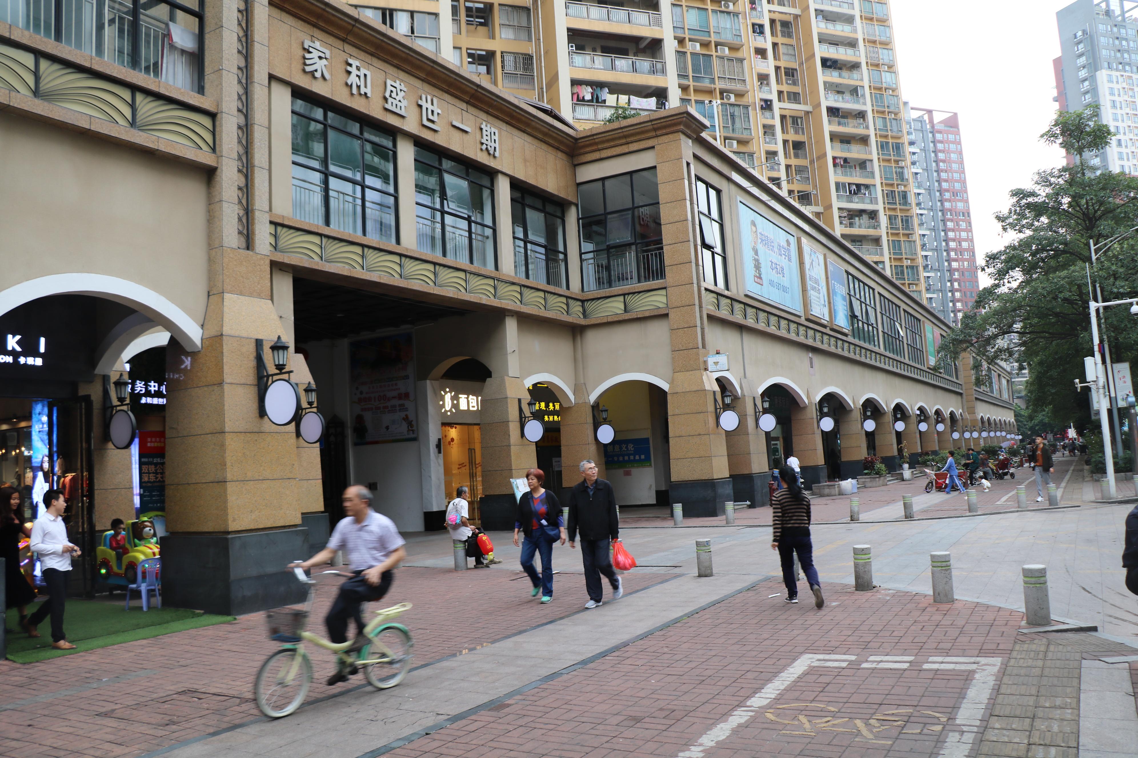 深圳龙岗家和盛世商业街