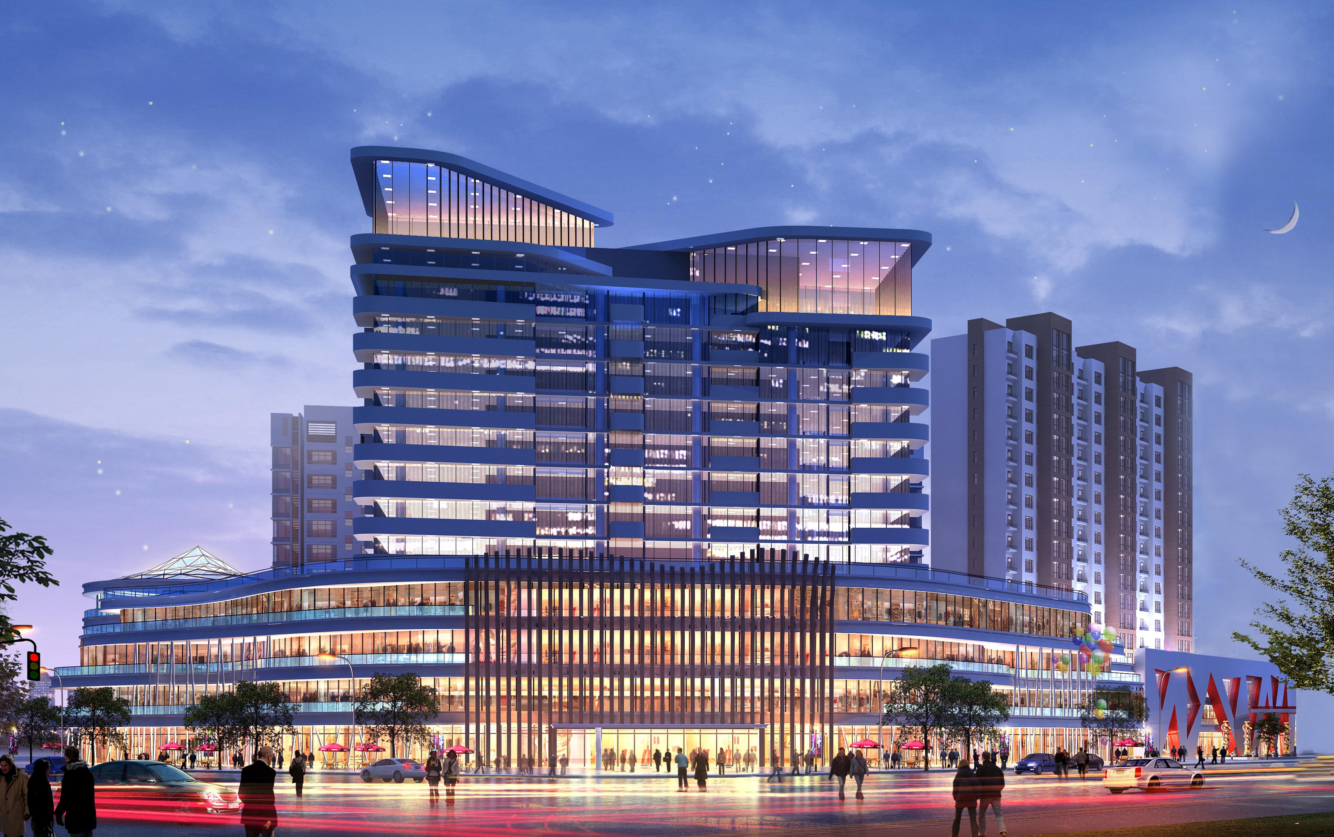 渭南韩城亿晨国际购物中心