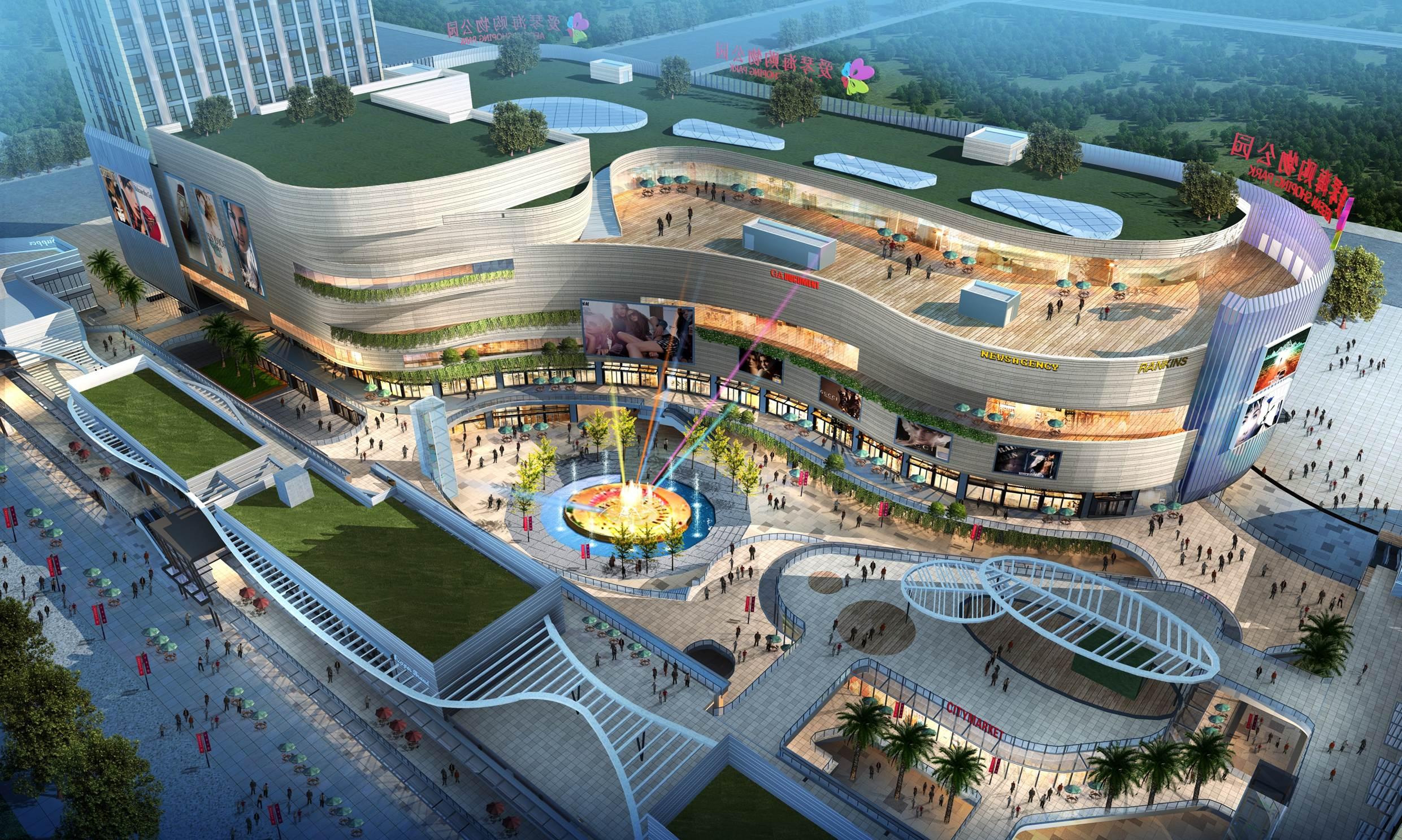 苏州吴江爱琴海购物公园