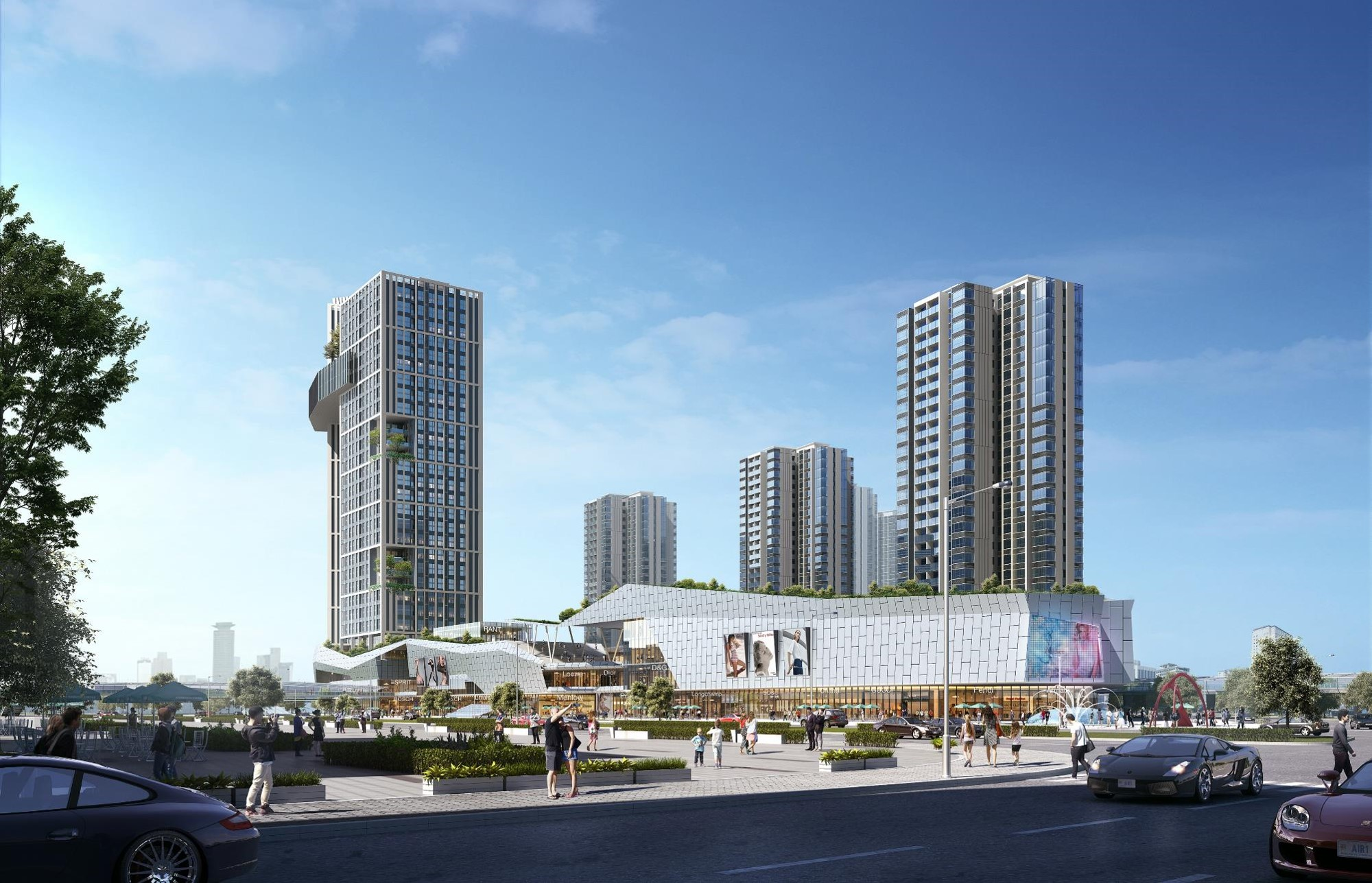 佛山陈村TOD商业广场