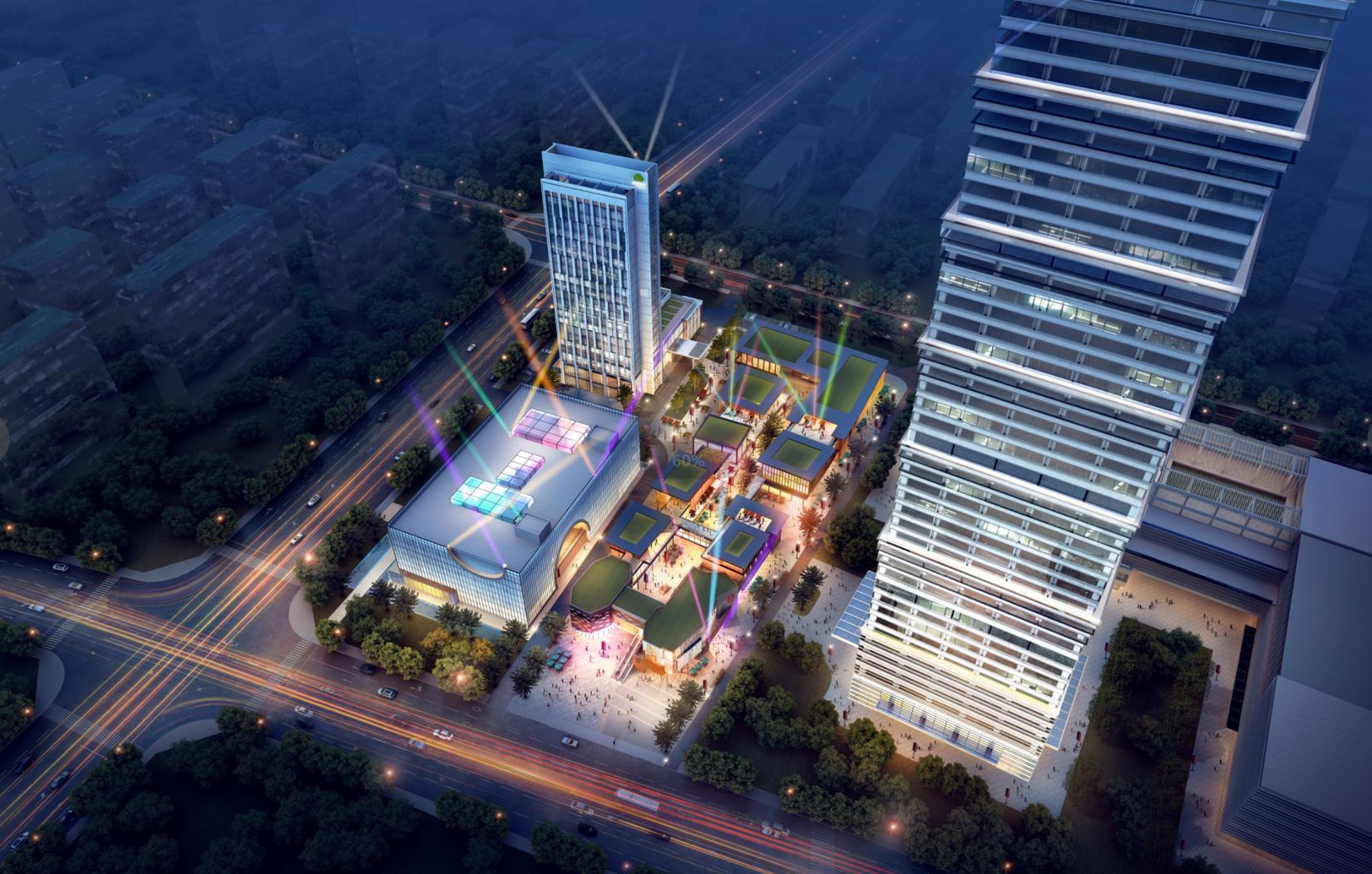渭南市韩城绿地中心
