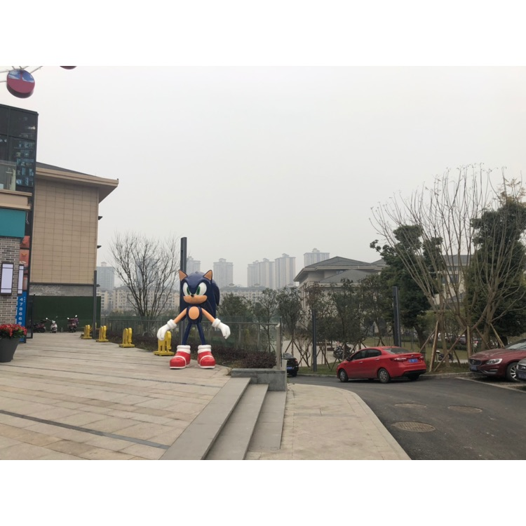 重庆江津区滨江新城梦锂天地商业街