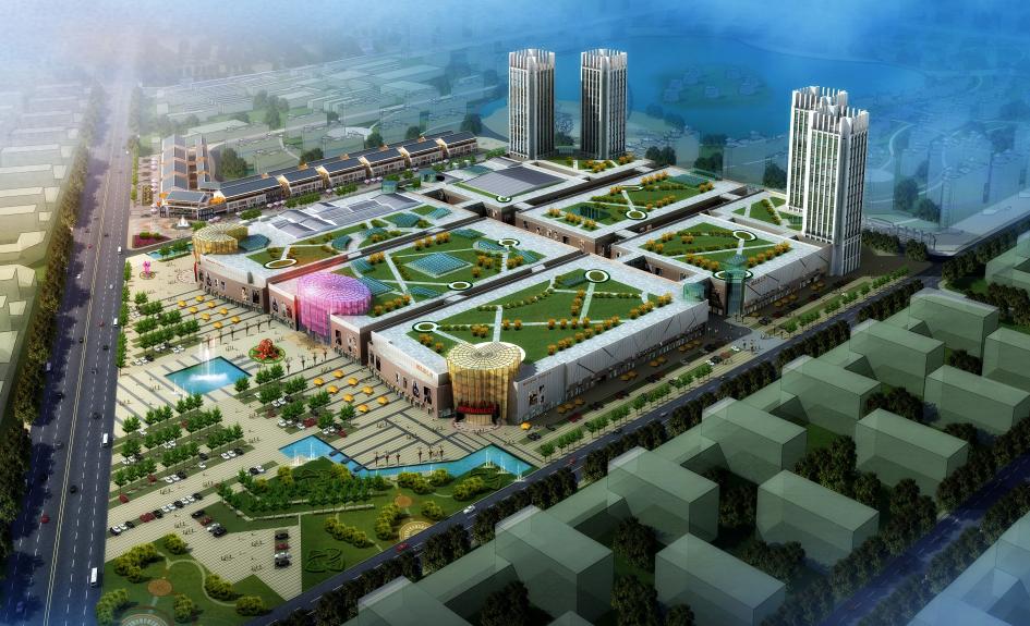 临沂市国华新城商业广场