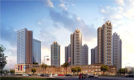 湘潭雨湖区太阳城商业中心