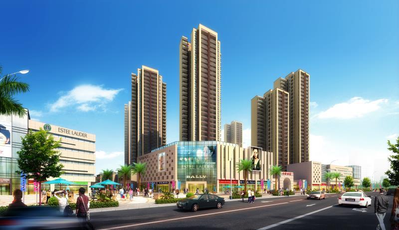 长沙蟠龙商业广场