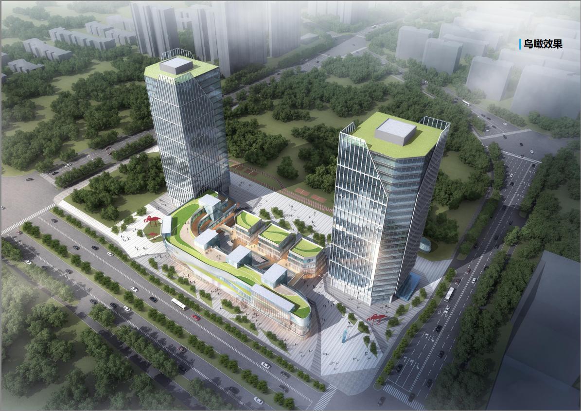 北京朝来双子座商业广场