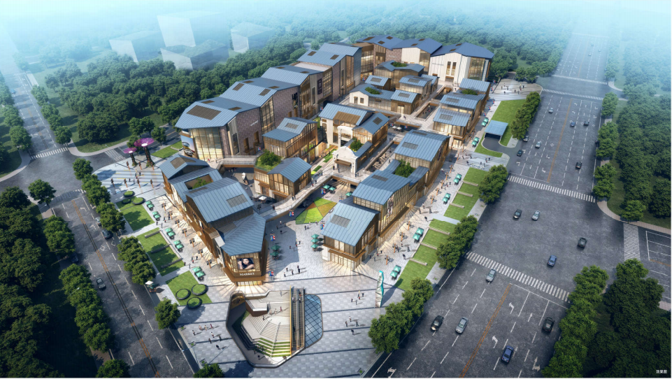 武汉中建光谷之星商业街