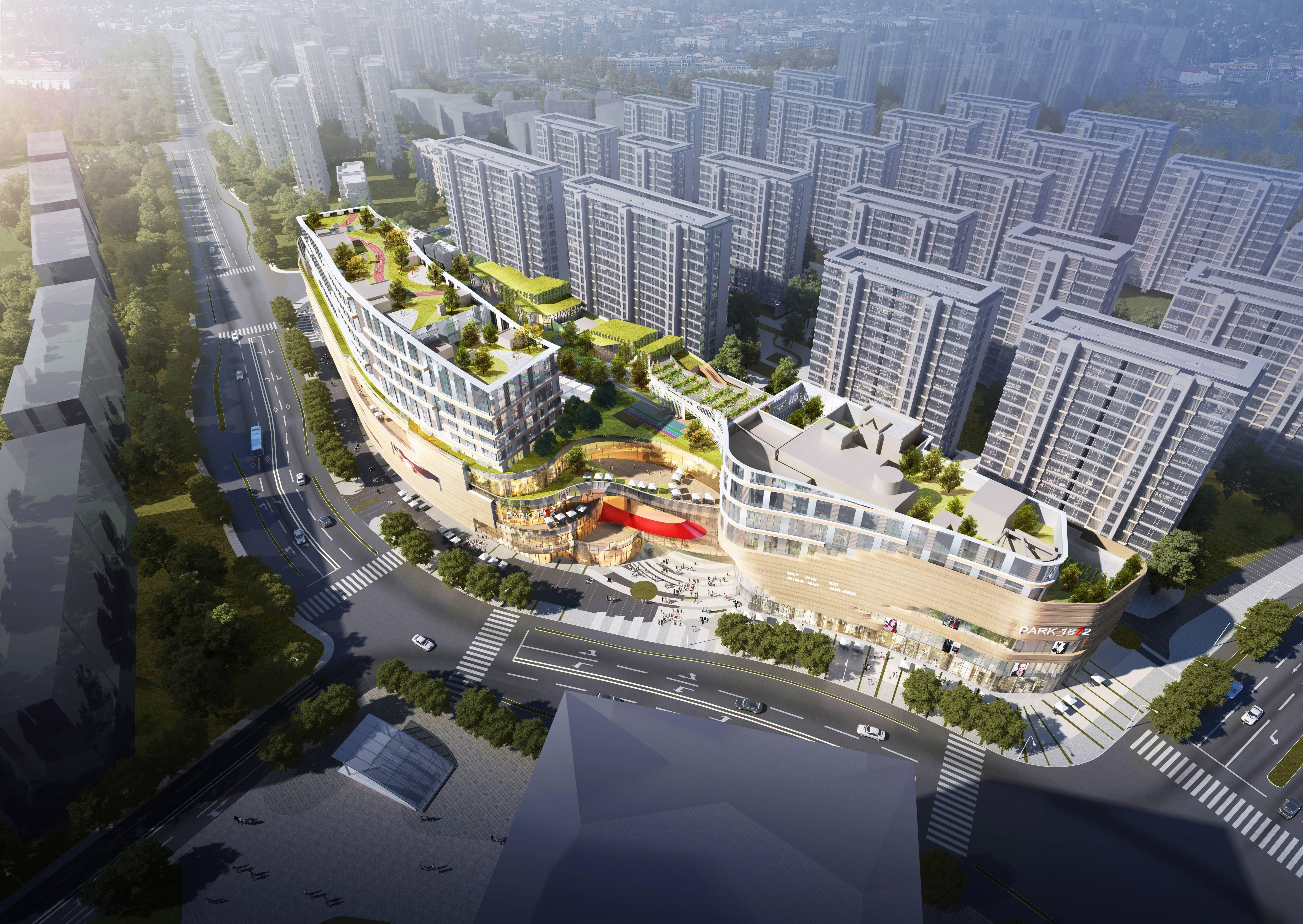 杭州七堡花園城購物中心