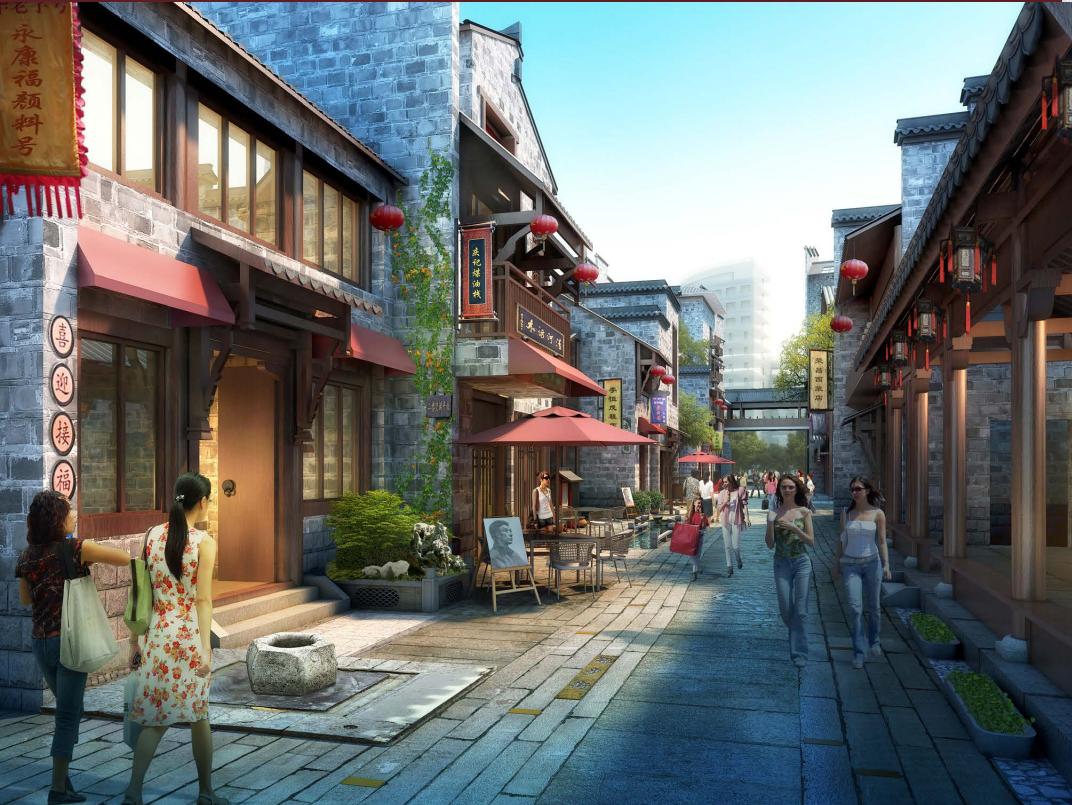 南昌万寿宫商业街区