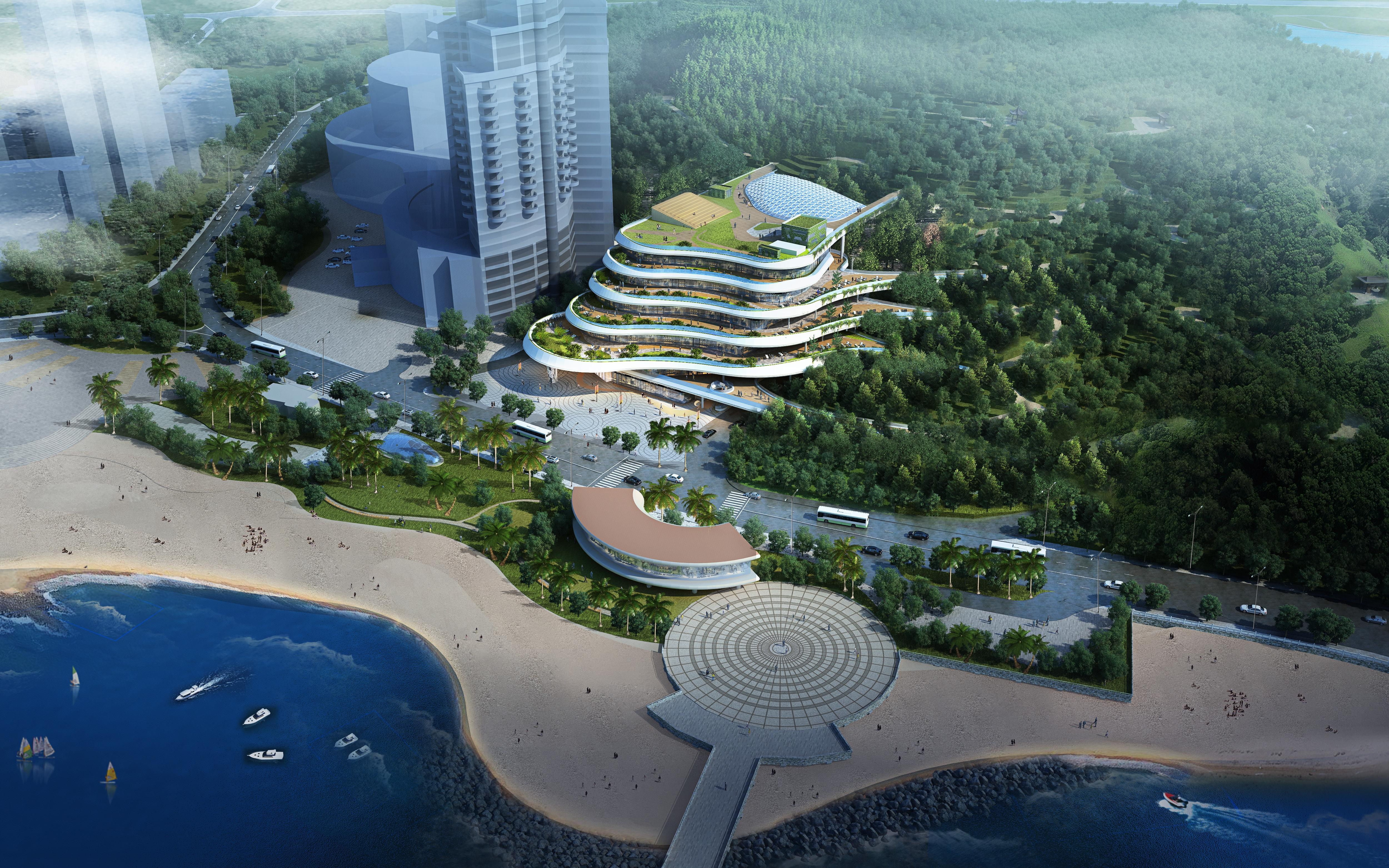 珠海正方優和匯·城市客廳