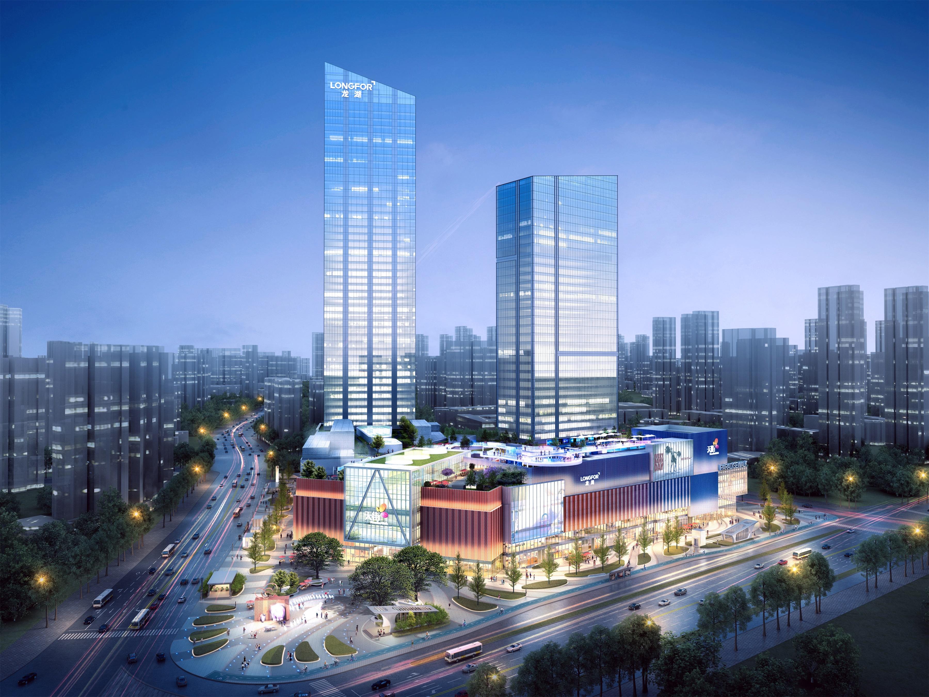 龙湖武汉江宸天街