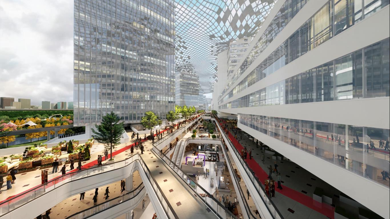 上海G60科创云廊(Rafael Sky City)